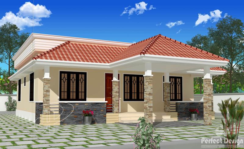 Single Story House Plan