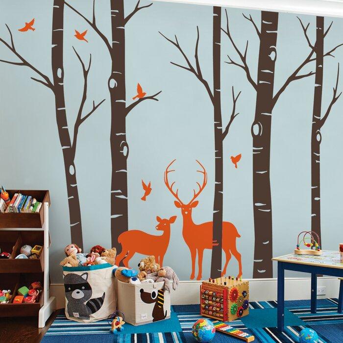 Kids' room wall design