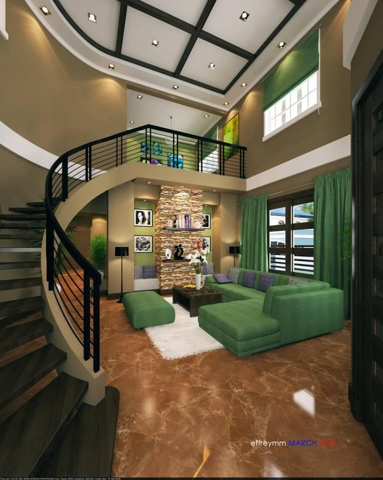2 store Mediterranean house design