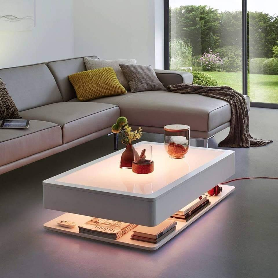 Coffee table unique design for living room