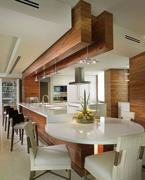Modern white kitchen designs