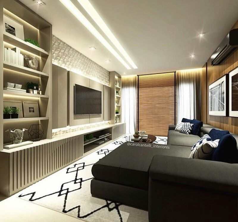 Small living room in an apartment