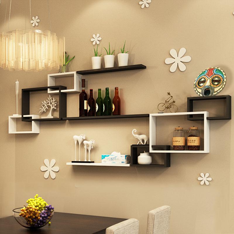 Dining room wall rack