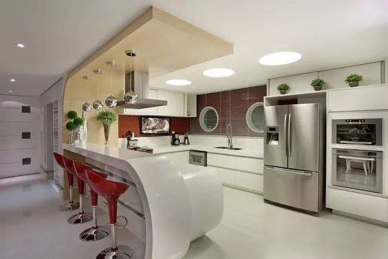 Modern kitchen for luxurious house