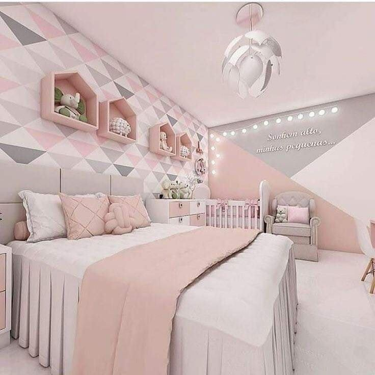 Pretty bedroom idea for girls