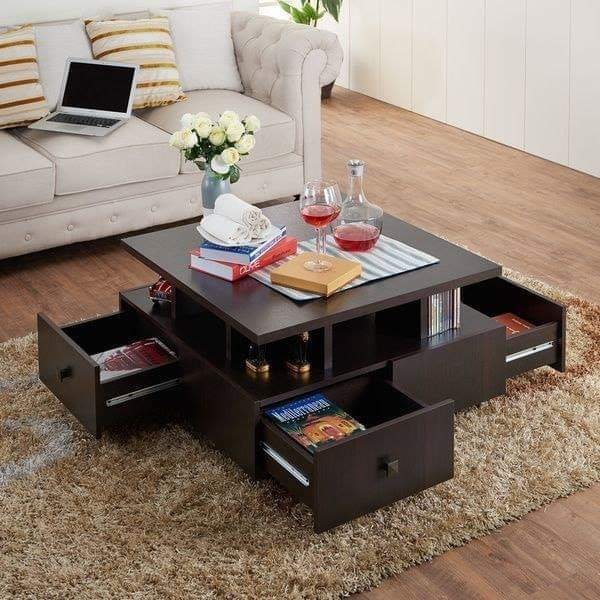Center table with storage designs