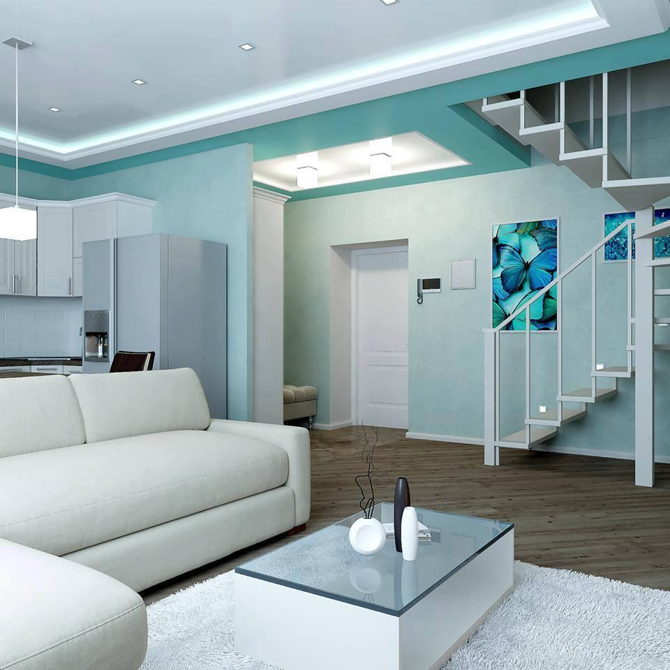 Beautiful apartment design plan