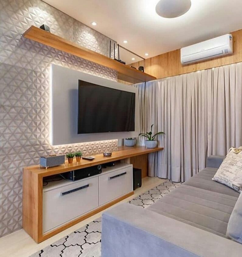TV in a small living room - Suitable for an apartment