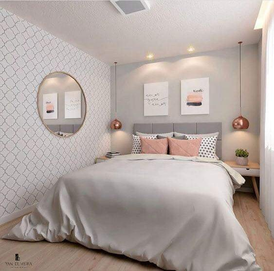 Unique bedroom design idea for teenage girls