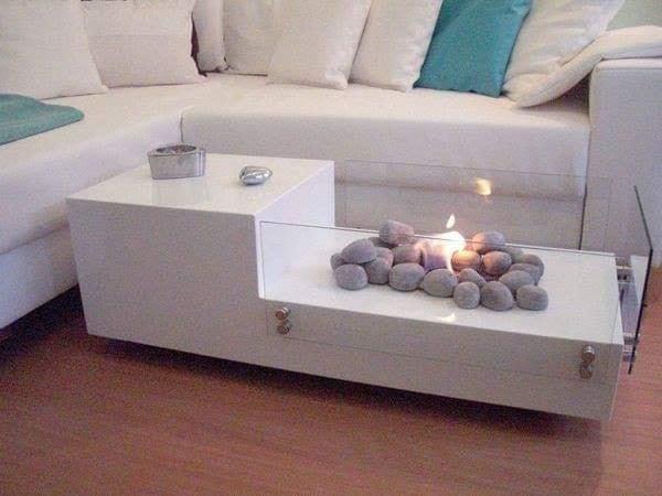 Modern coffee table decor