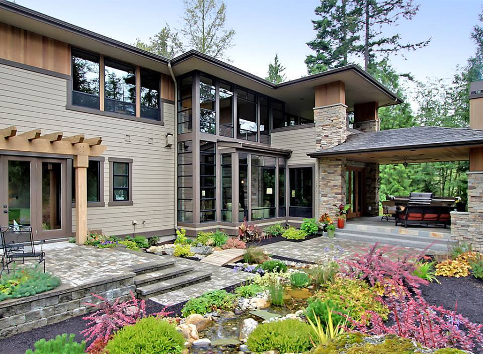 Beautiful exterior design of a home