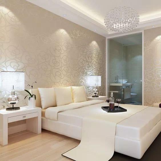 Modern bedroom ceiling design concept