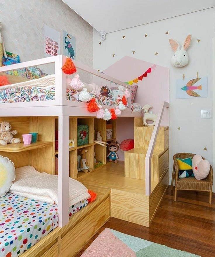 Kids' bedroom design concept