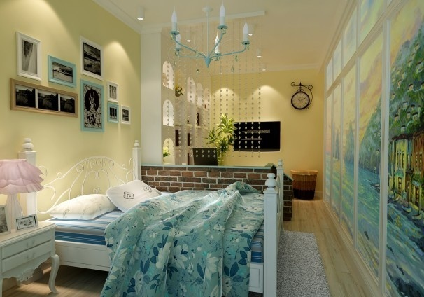 Attractive bedroom design plan for small spaces