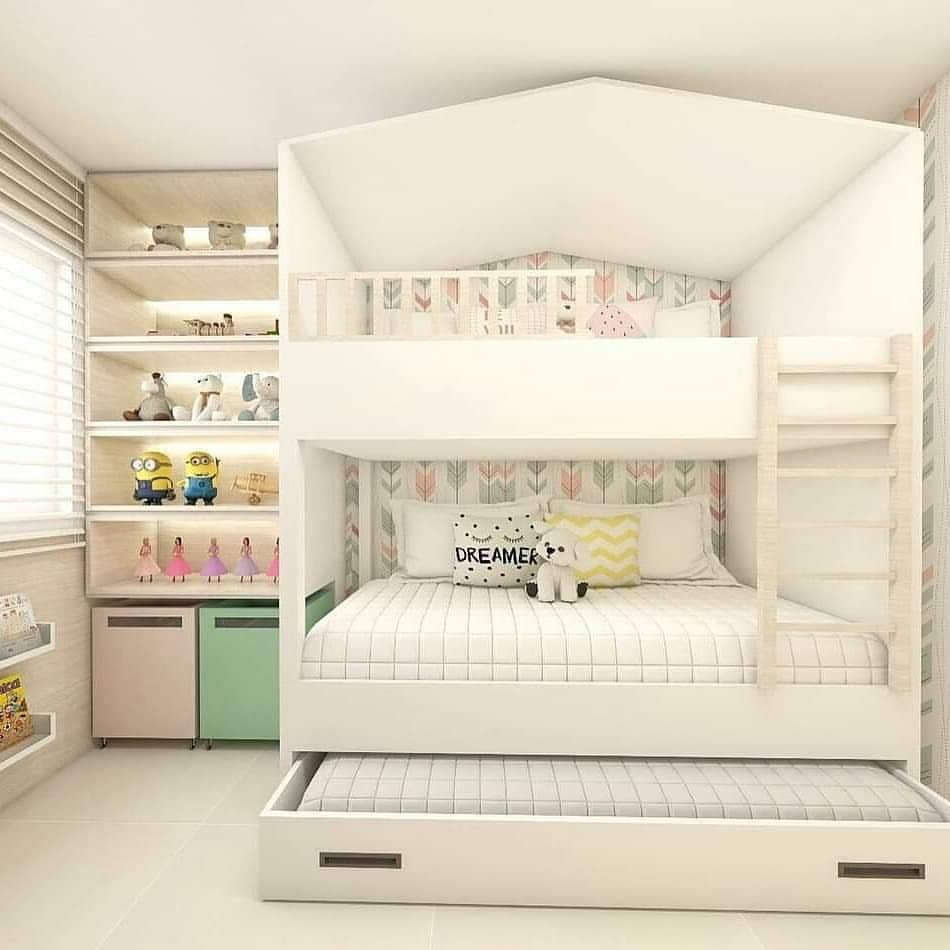 Beautiful design idea for kids room
