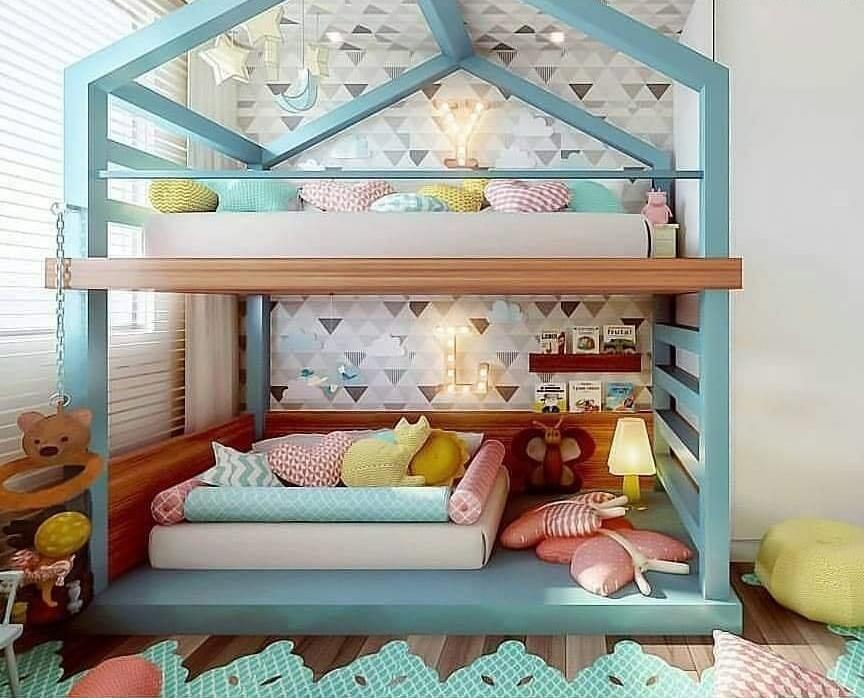Kids' bedroom decor idea