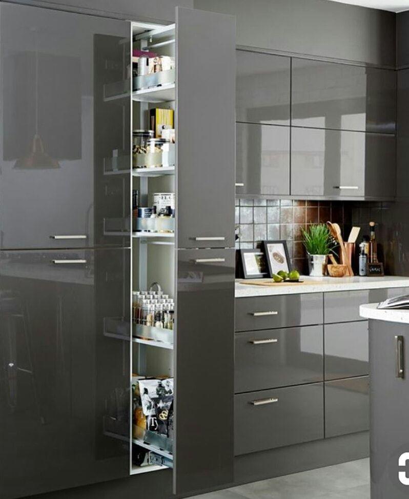 parallel kitchen tall unit