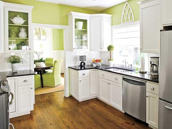 simple kitchen design idea for small house