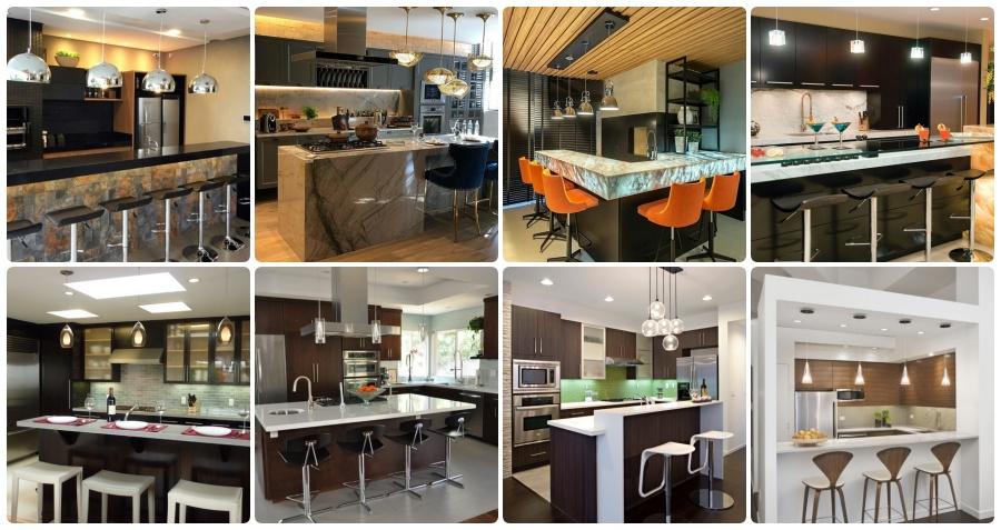 Top 48 Kitchen Mini Bar Design Ideas