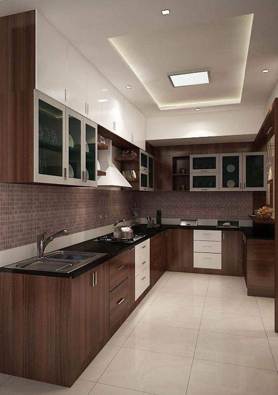modern kitchen design idea for small spaces