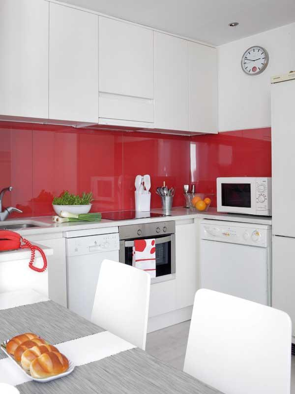 small kitchen for nuclear family