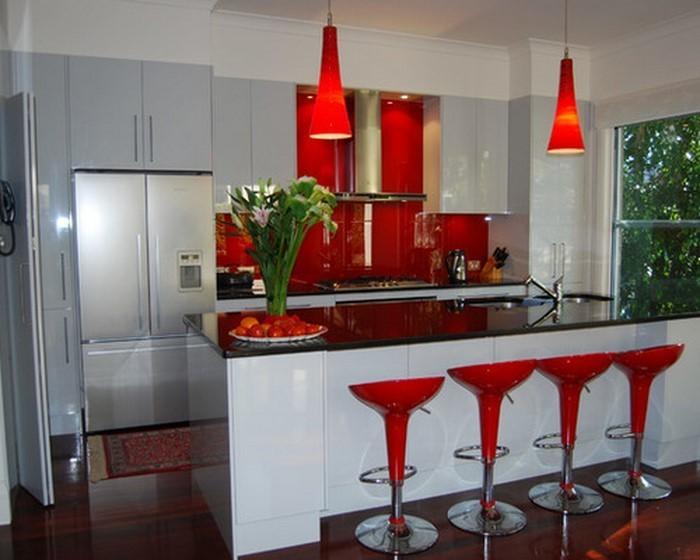 kitchen design for a home near sea