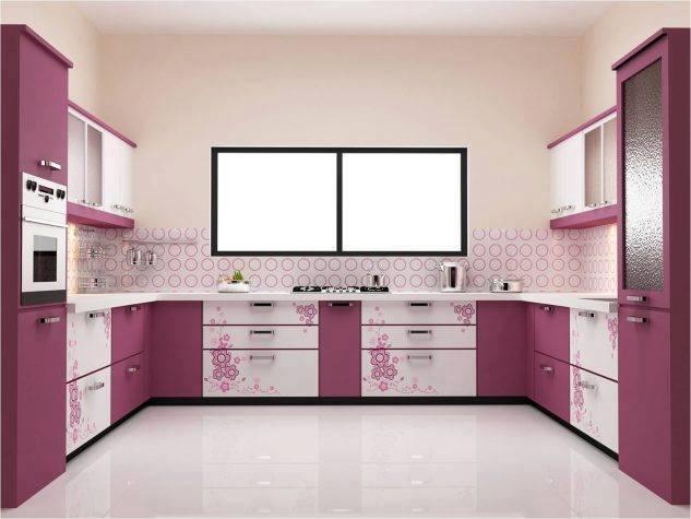 Bright and colorful kitchen design idea
