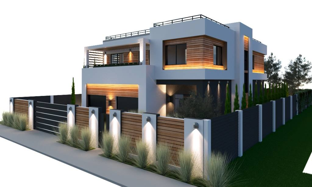 Home exterior design plan