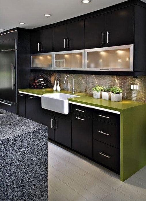 Modern American kitchen design