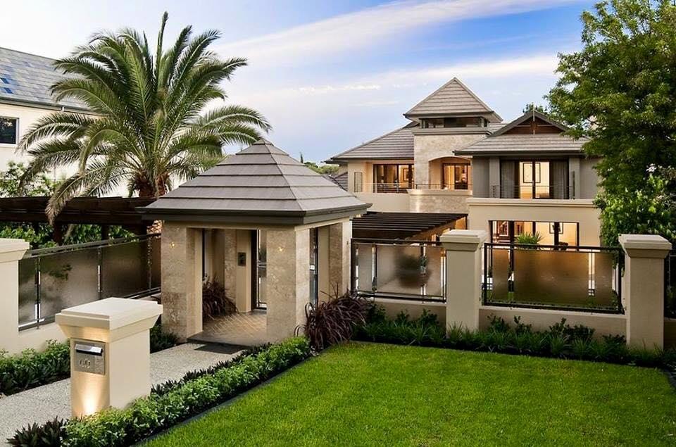 Exclusive home exterior design