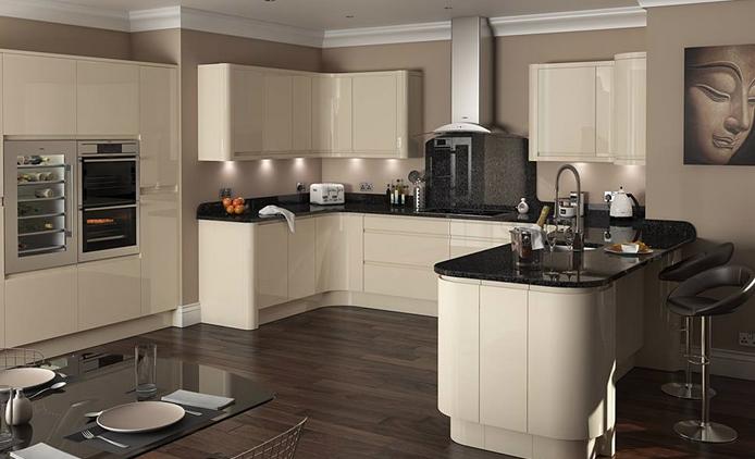 U-shape kitchen design