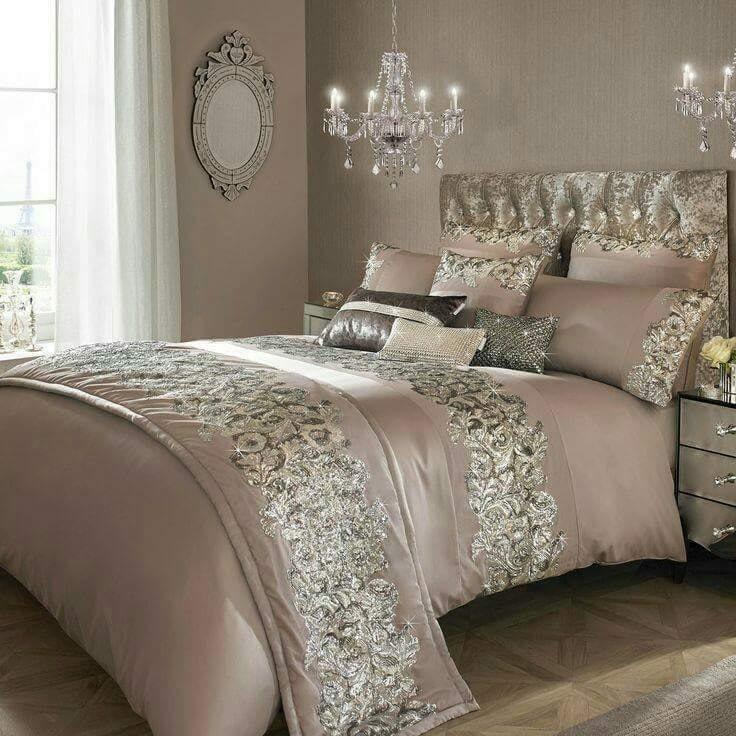 Pink kylie minogue bedding