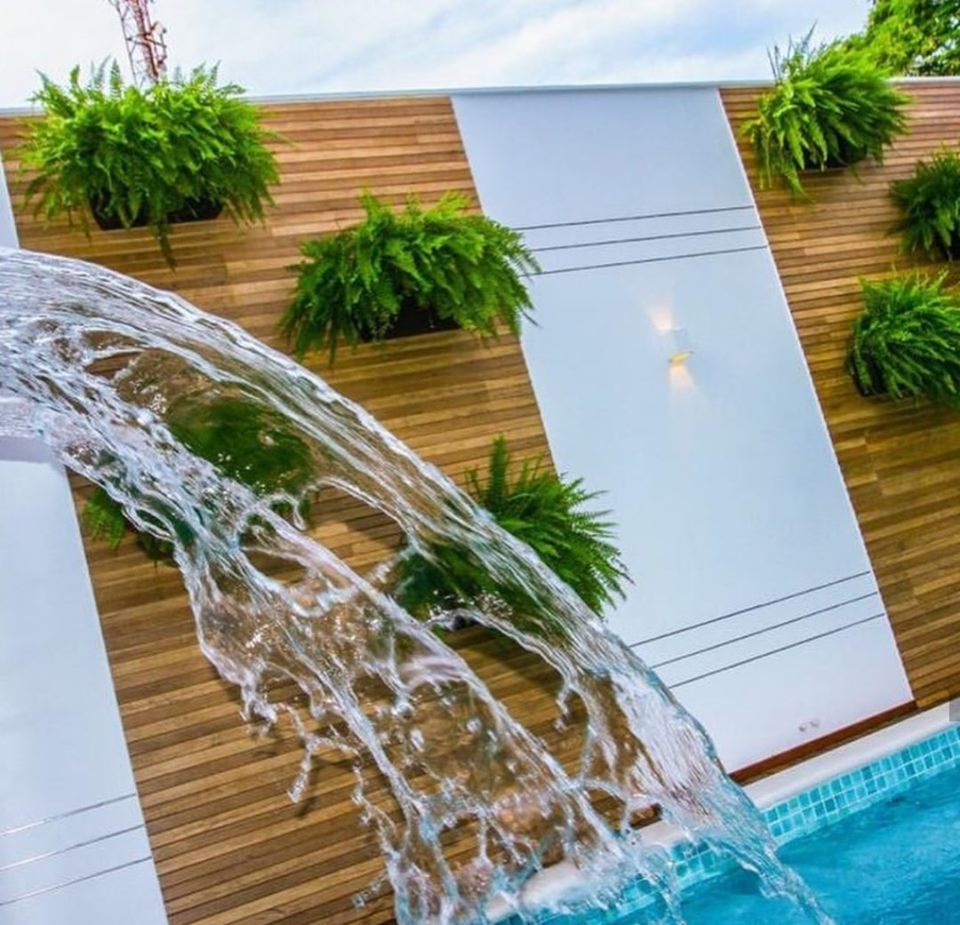 Fountain interior and exterior design