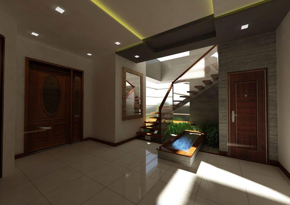 Four storey house design idea