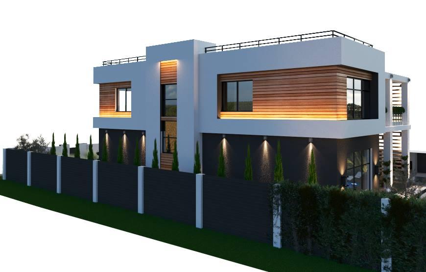 Residential villa concept