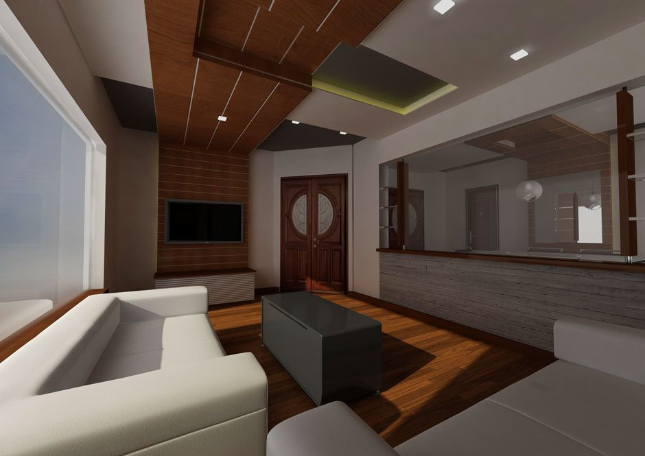 Interior design for a luxury home