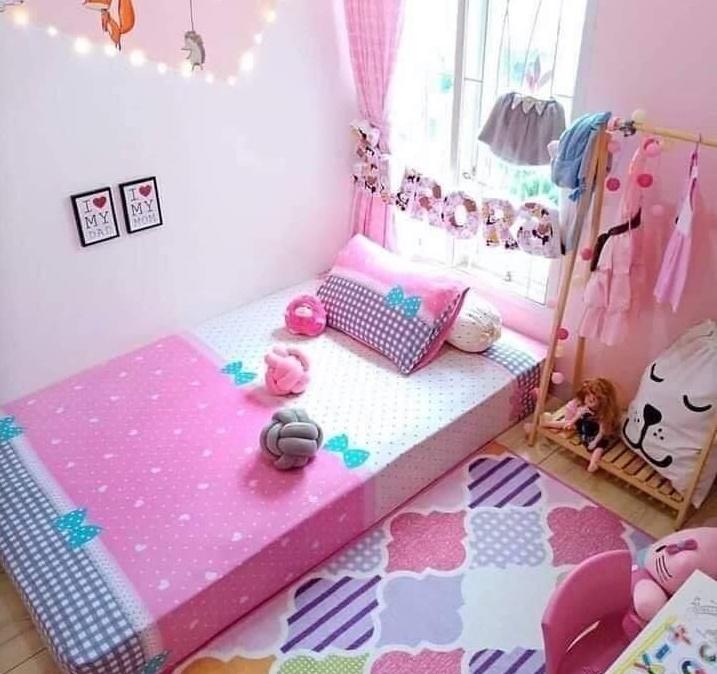 Lovely bedroom design for a kid