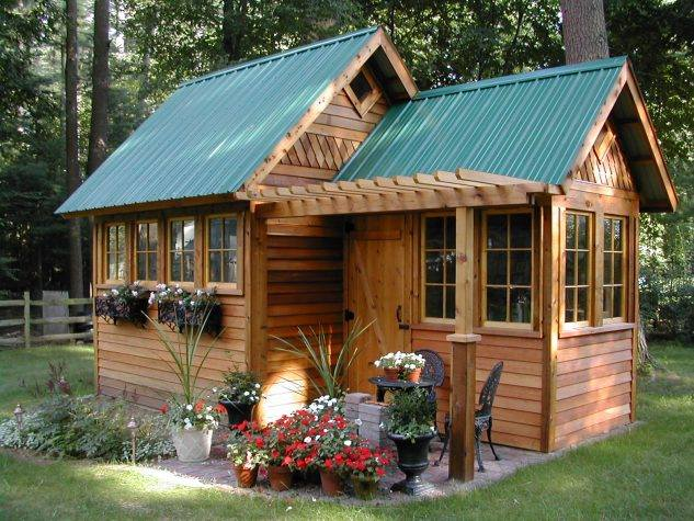 Small cabin style homes