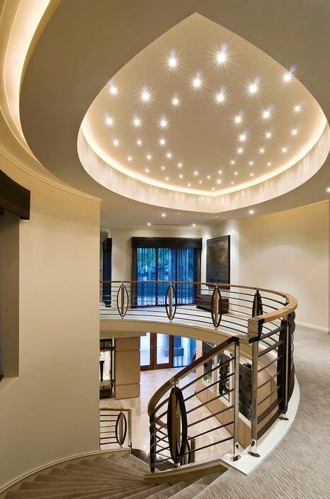 Luxury house upstairs interior design
