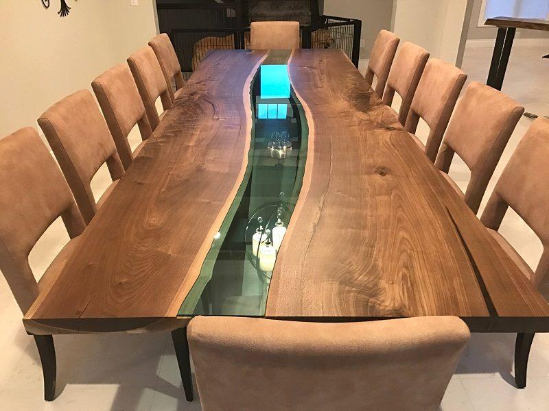 Dining table design idea