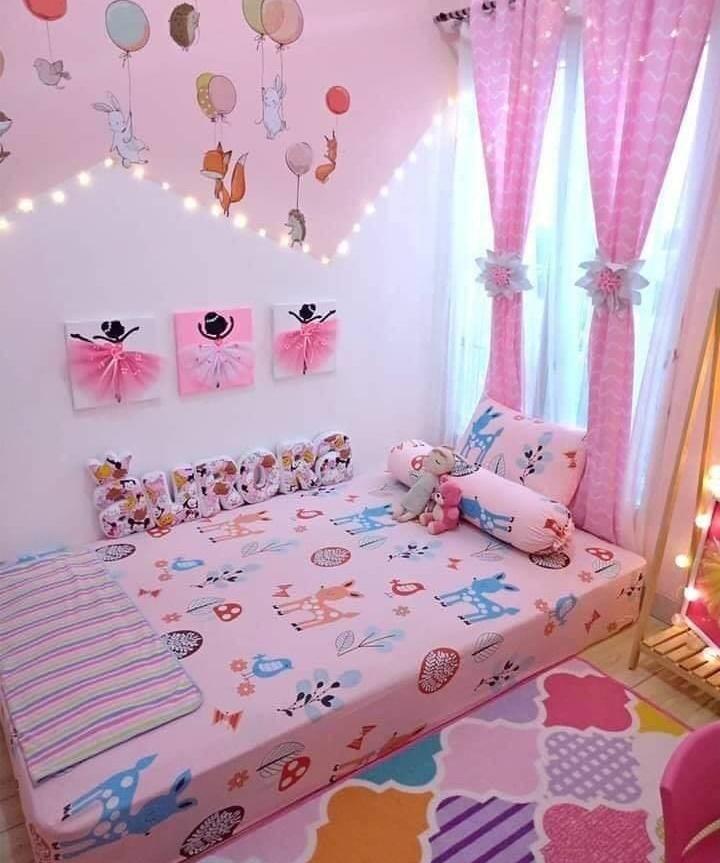 Girl bedroom decor idea