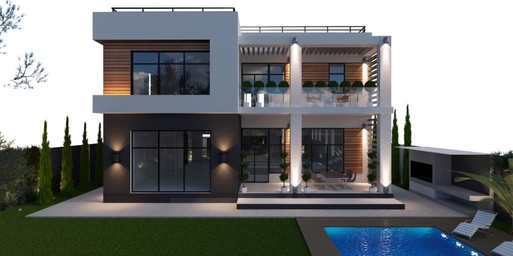 Exterior design architecture