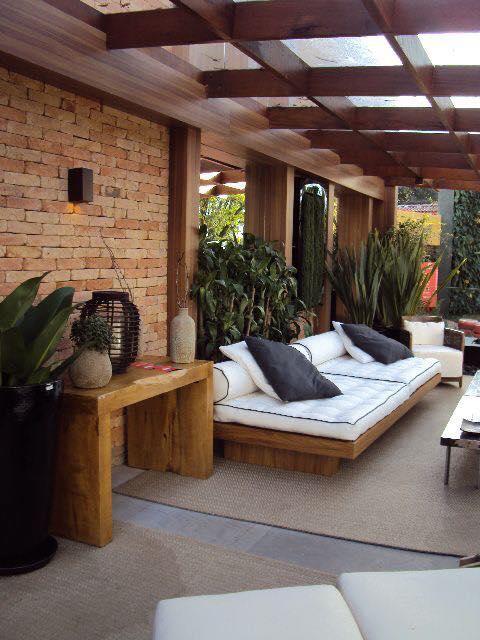 Villa exterior design setup