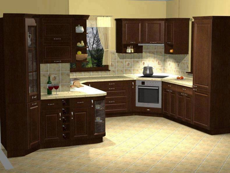 Kitchen design idea for home