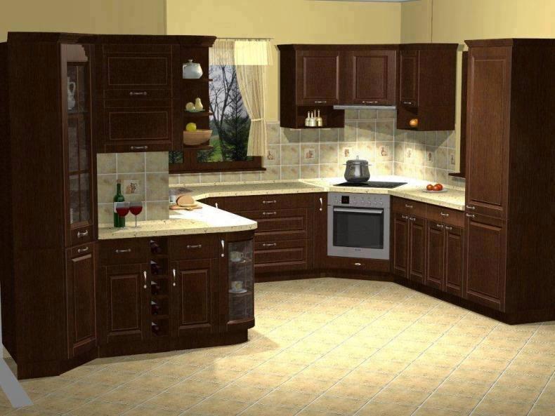 Kitchen design idea for home