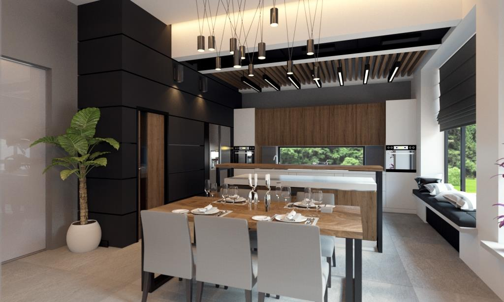 Interior design of a modern residence