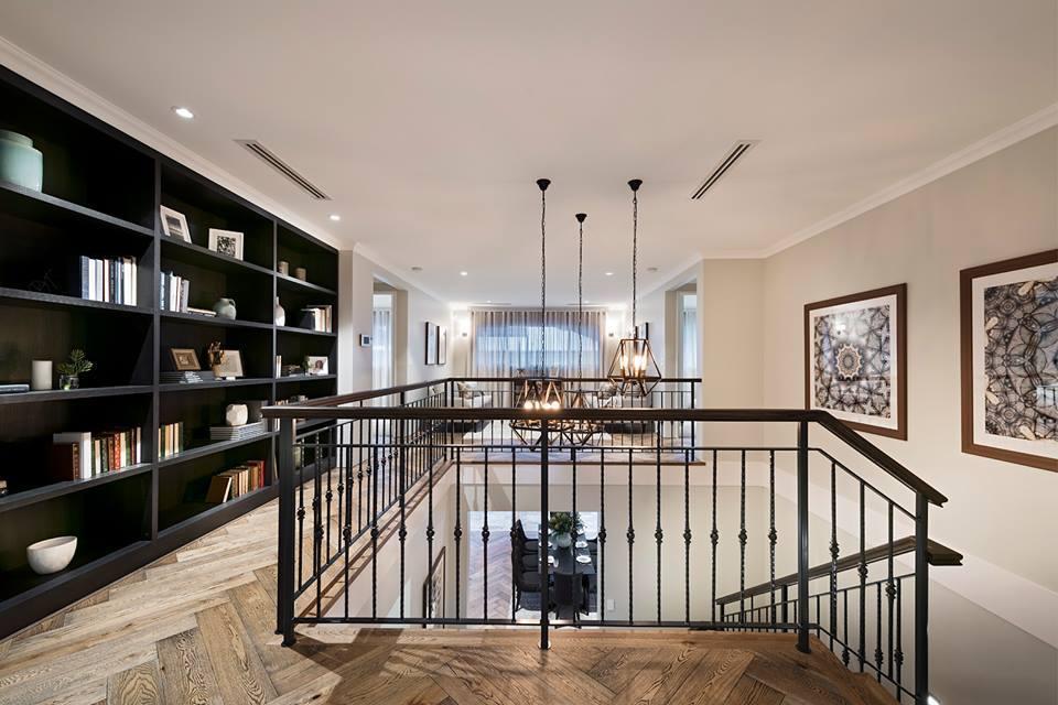 Upstairs interior design idea