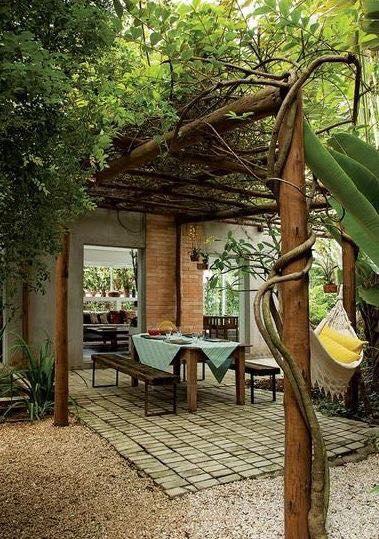 Exterior planter idea