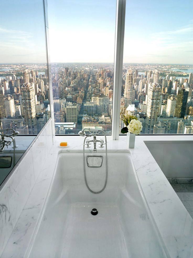 Bathroom with best view