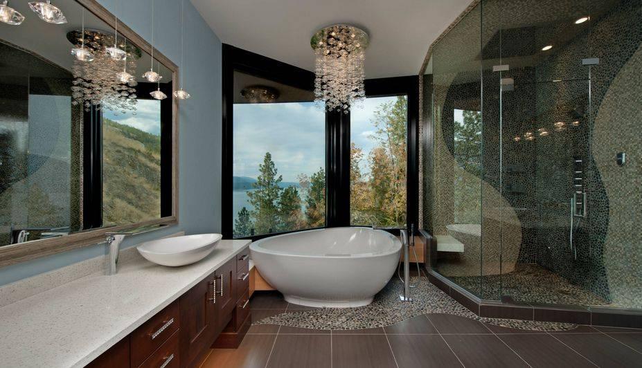 Luxury big bathroom design